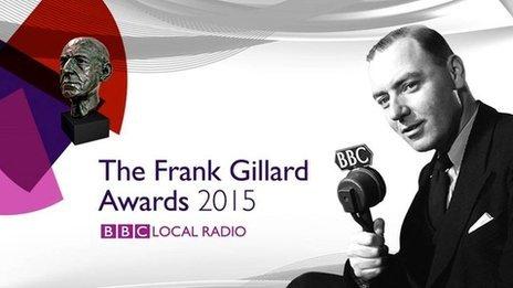 Frank Gillard Awards 2015