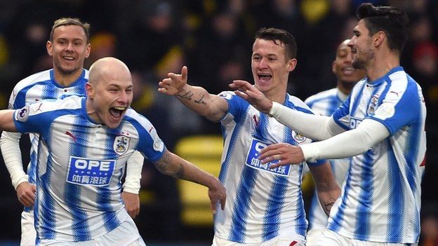 Huddersfield 'halfway to safety' after beating Watford - who see red again