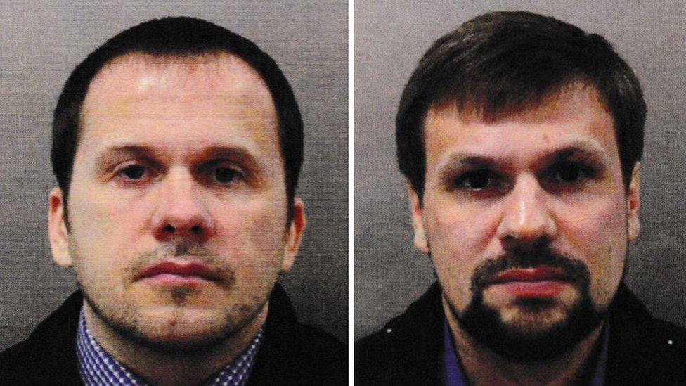 Skripal poisoning: Putin says suspects 'civilians, not criminals'