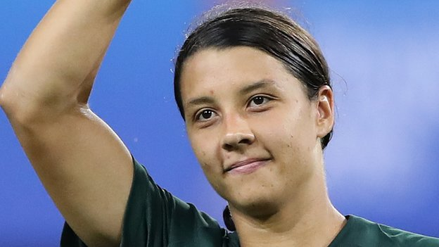 Jamaica 1-4 Australia: I'd pay to watch Sam Kerr, says Reggae Girlz coach Hue Menzies
