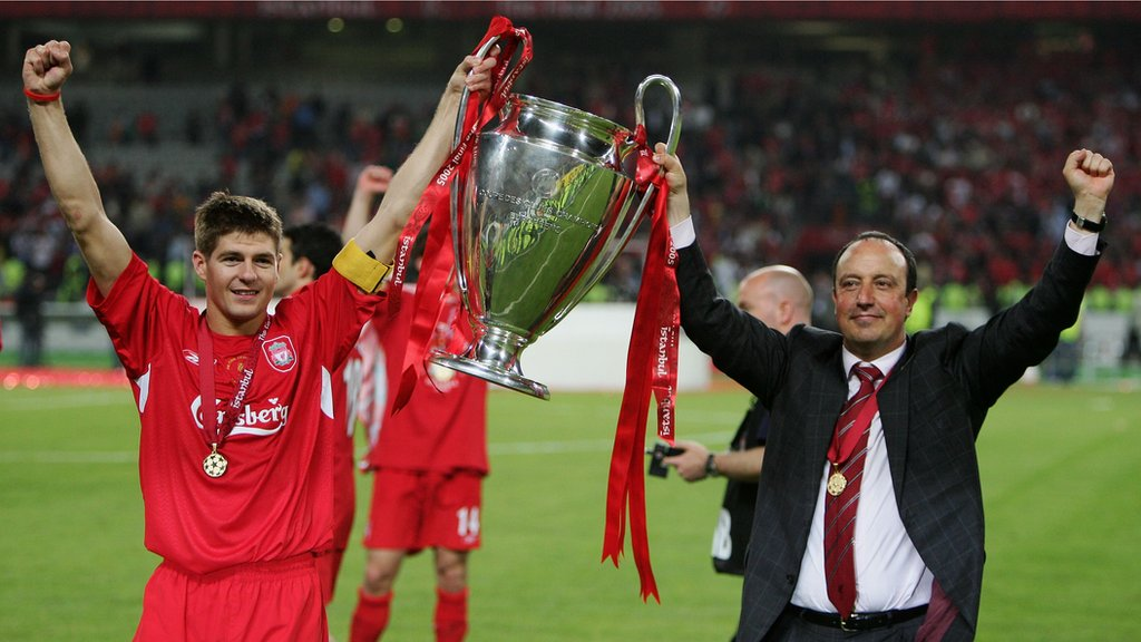 Current Liverpool team better than my 2005 winners - Benitez