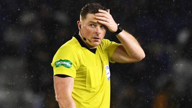 Alex McLeish urges people to 'get behind' Scottish referees
