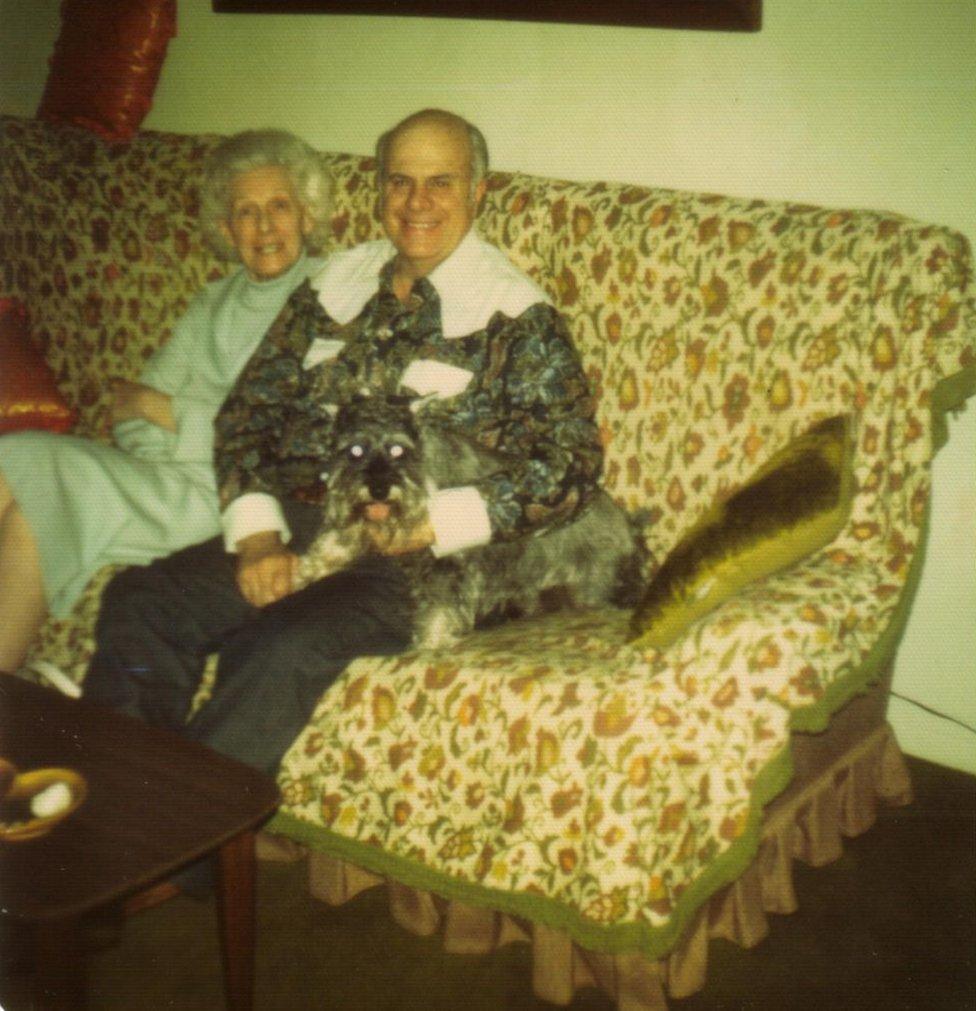 Mae (izquierda) junto a Sonny (derecha) (Foto: gentileza Mario Gomes - Myalcaponemuseum.com)