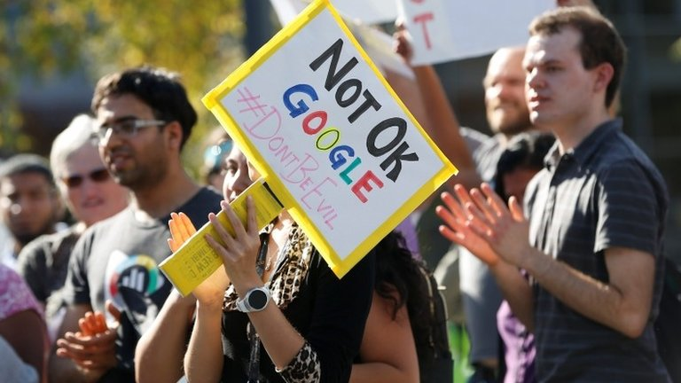 Google's parent company Alphabet sued over sexual misconduct policy