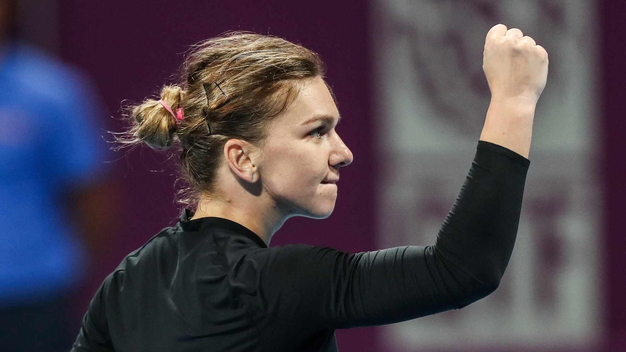 Qatar Open: Simona Halep into semi-finals, Angelique Kerber also through