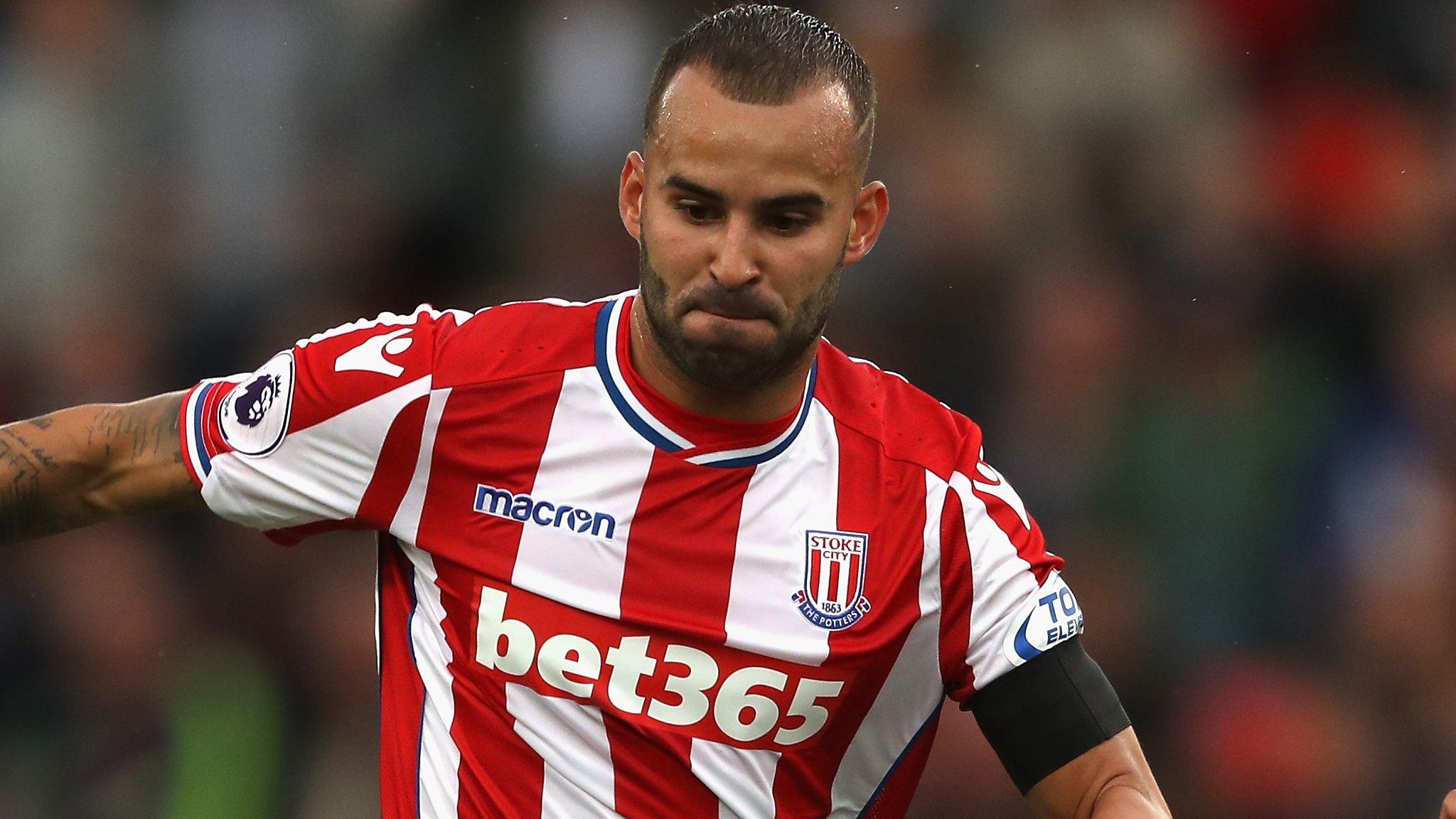 Jese Rodriguez: Stoke discipline striker after walk-out