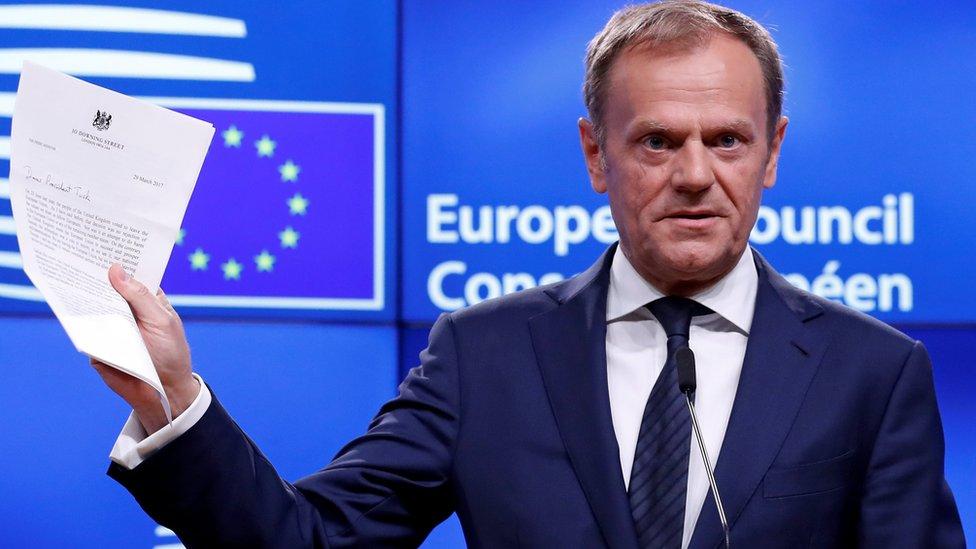 آغاز روند خروج بریتانیا از اتحادیه اروپا با واکنش مقامات اروپایی مواجه شده است