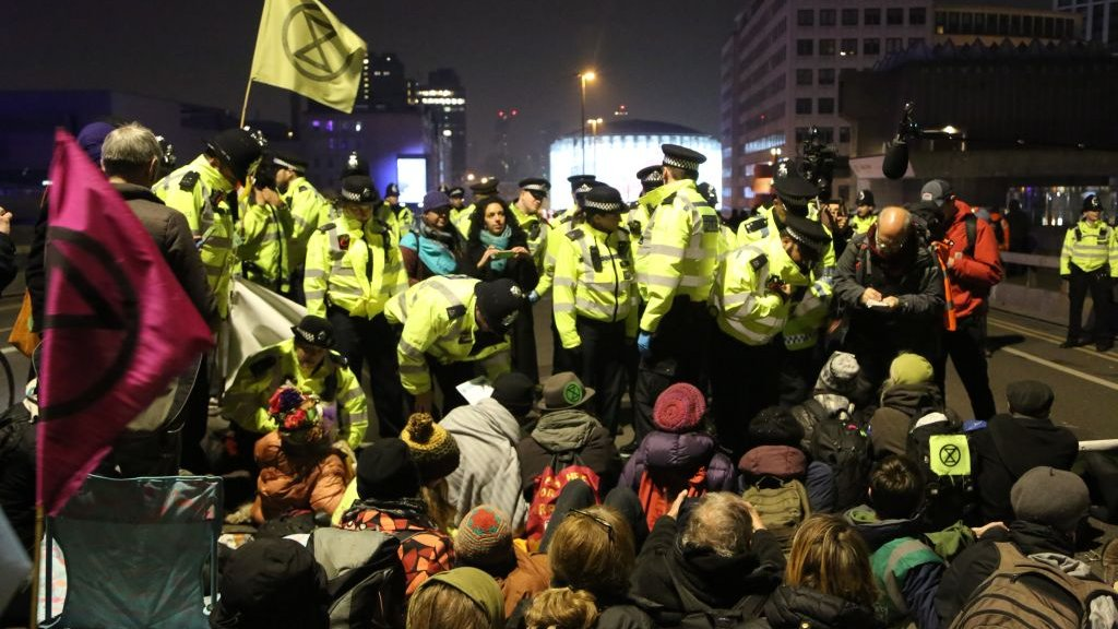 Truth or Not? Extinction Rebellion protest: 100 arrests as London roads blocked