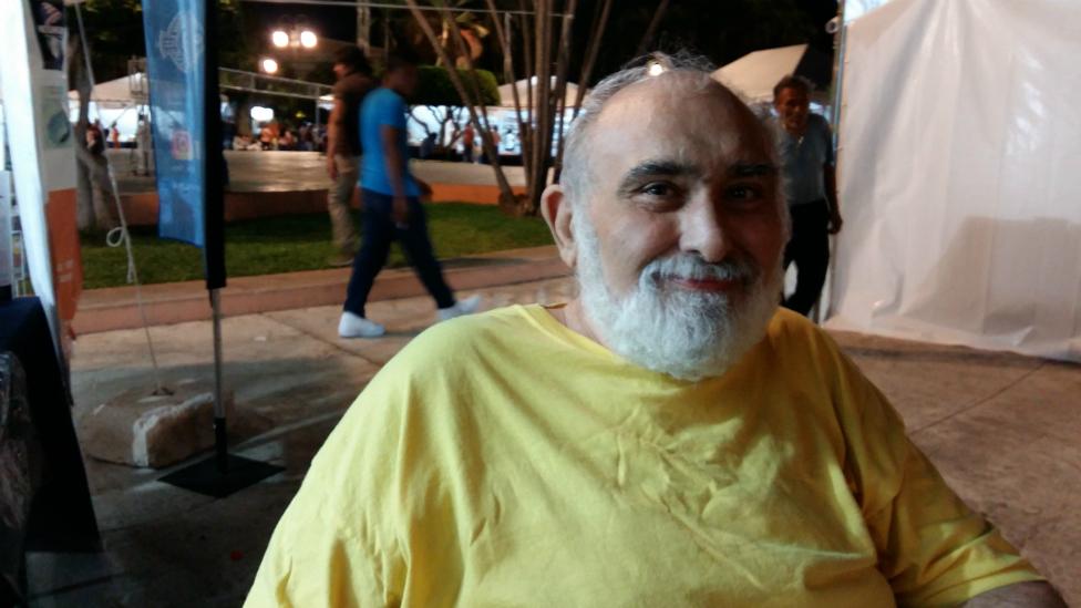 """Jorge Álvarez Rendón, cronista de la ciudad, dice que la la gente en Mérida """"es muy serena, siempre tiende a la concordia, al acuerdo, no es proclive a la violencia""""."""