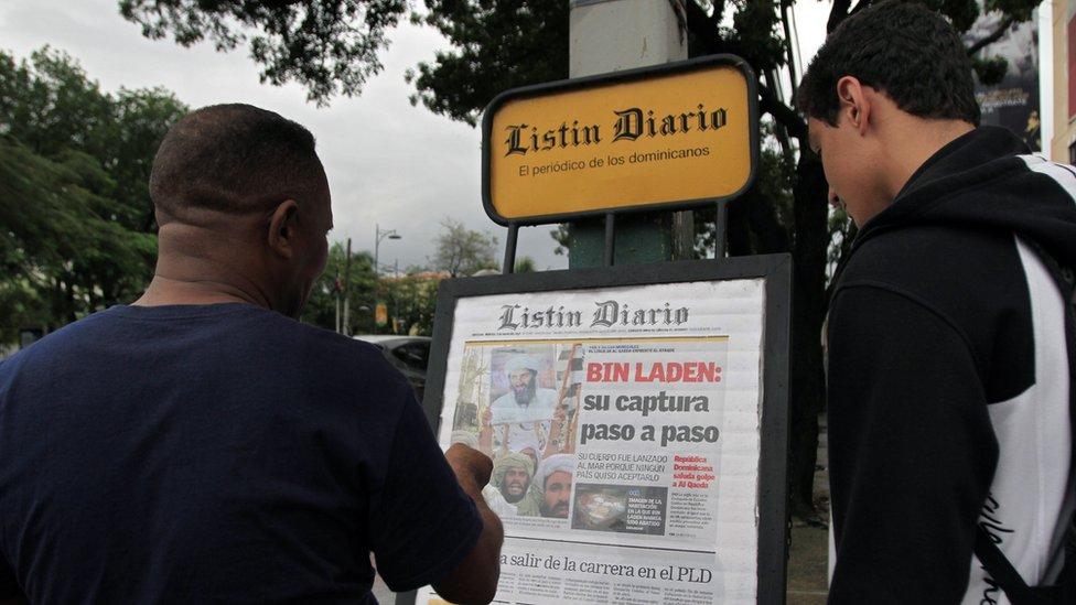 Dominican Republic newspaper kiosk