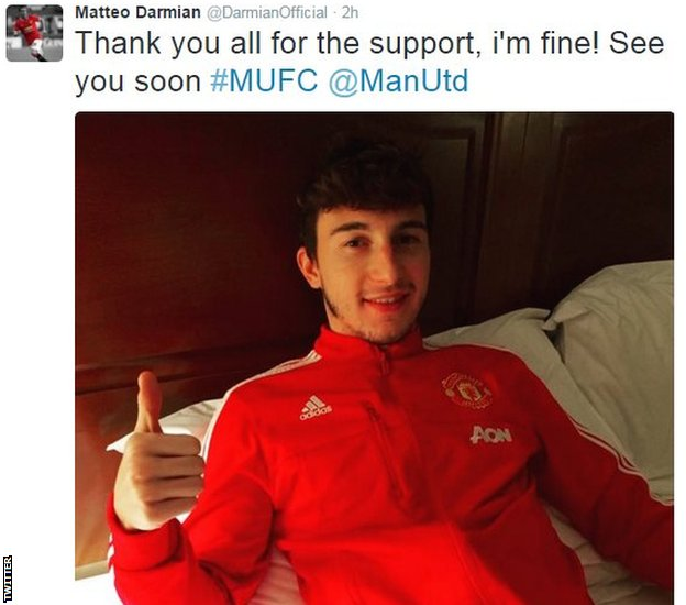 Matteo Darmian on Twitter