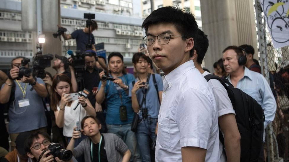 Hong Kong protest: Joshua Wong calls for HK leader Carrie Lam to resign