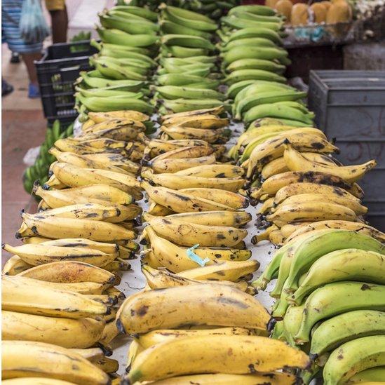 plátanos en Colombia