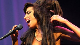 Why is Amy Winehouse up for a Brit?