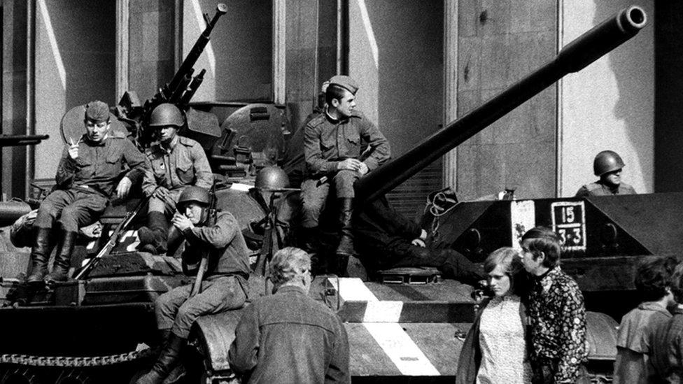 Soviet 1968 invasion: Czechs still feel Cold War shivers