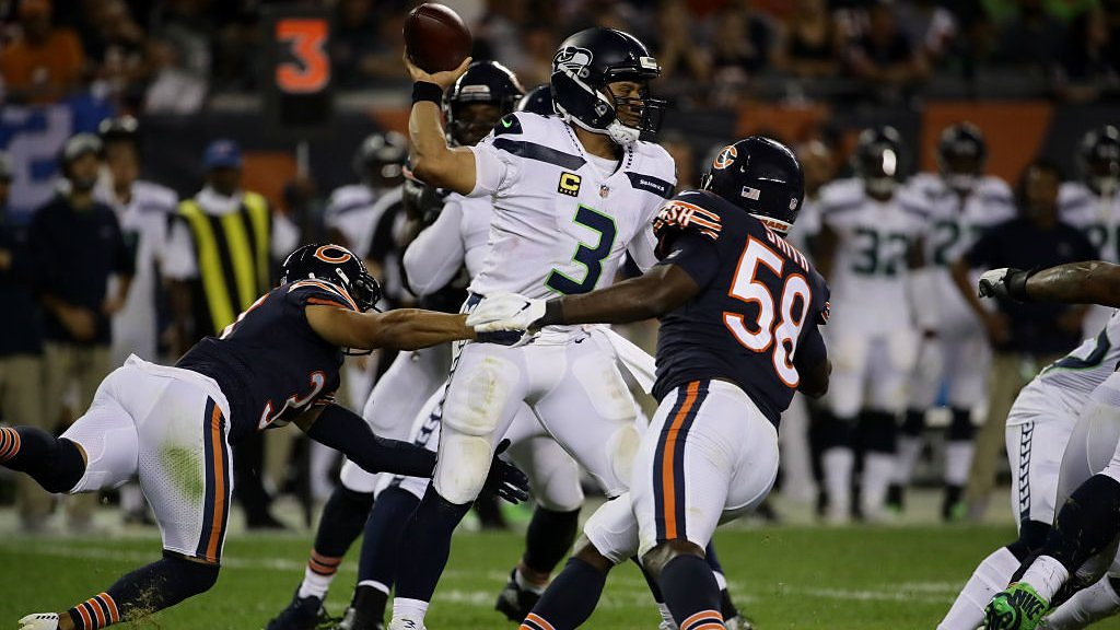 NFL: Chicago Bears defence dominates Russell Wilson's Seattle Seahawks