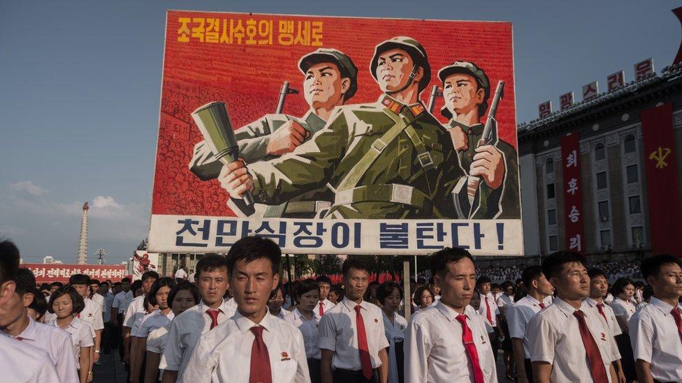 North Korea, USA