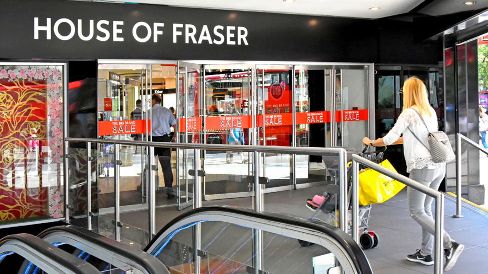 Landlords in legal challenge to House of Fraser rescue