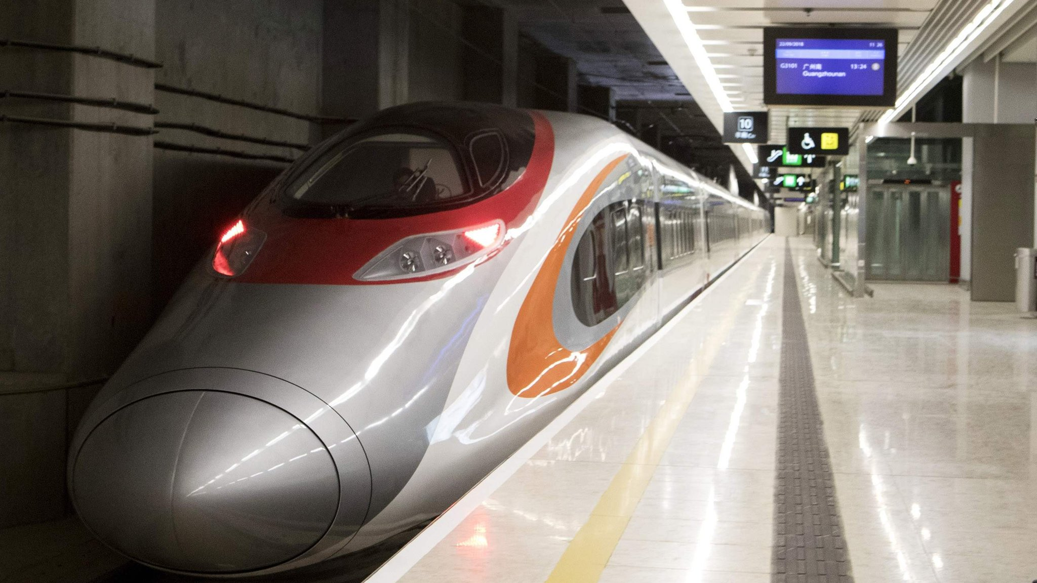 Hong Kong express rail link launches amid controversy