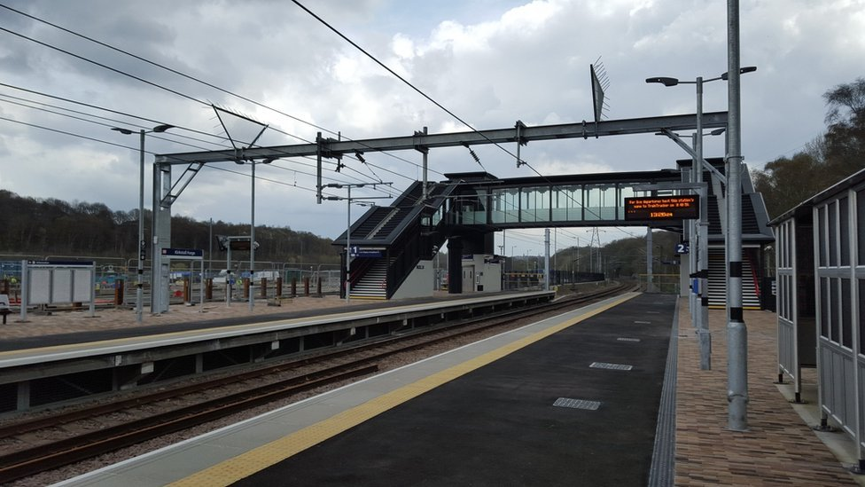 Leeds Kirkstall Forge Railway Station Opens