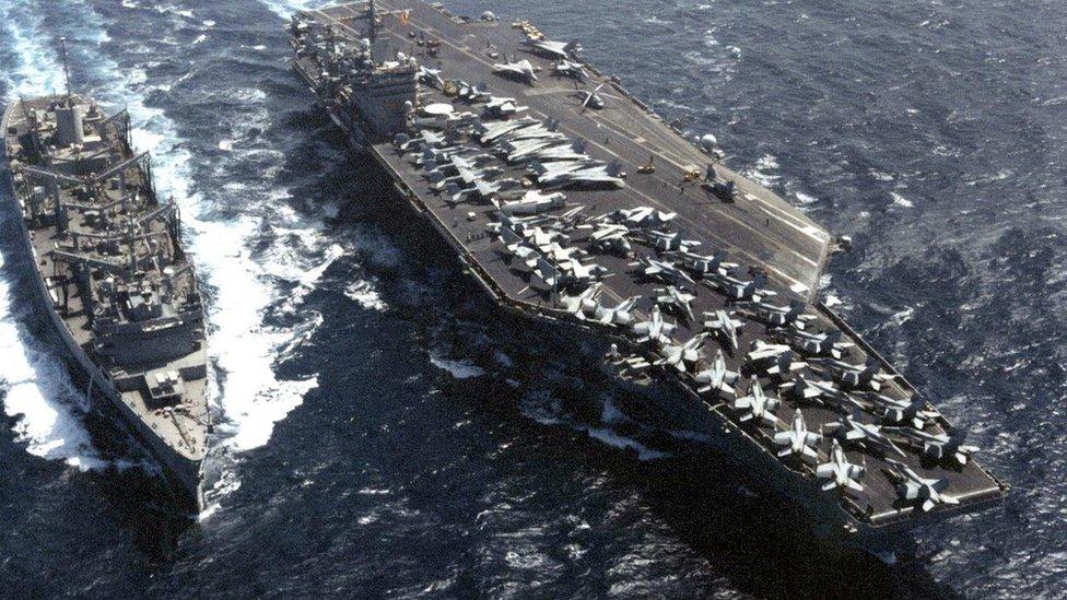 Tàu USS Carl Vinson: Trump nghi binh hay lỡ lời?