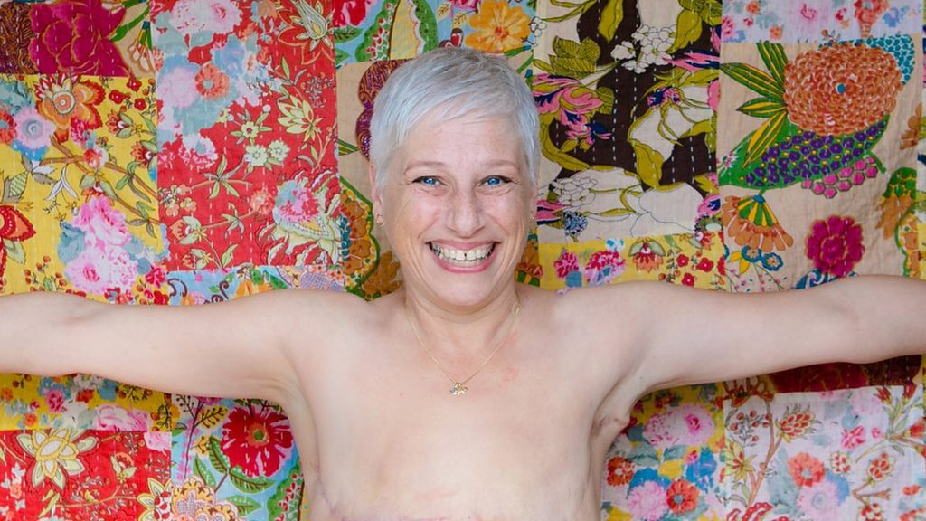 Why I'm happy 'living flat' after breast cancer