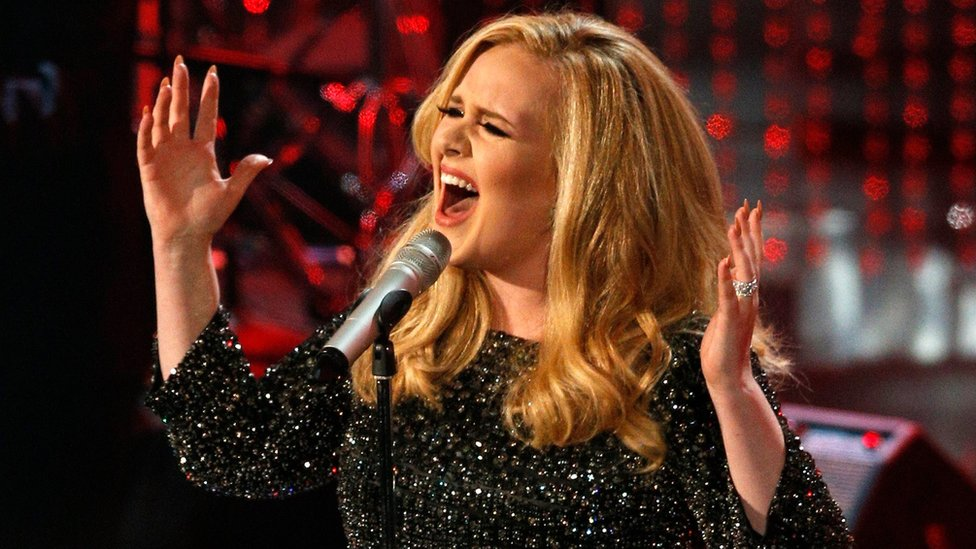 Adele distances herself from Trump