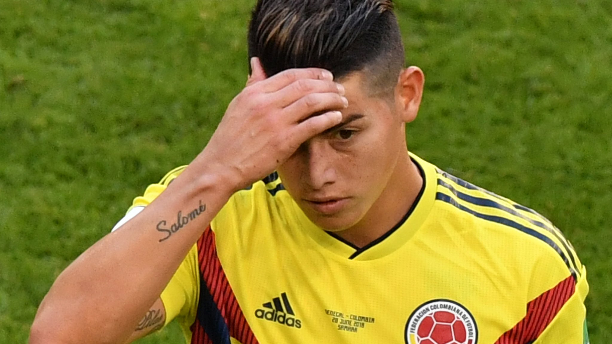 World Cup 2018: James Rodriguez could play for Colombia against England