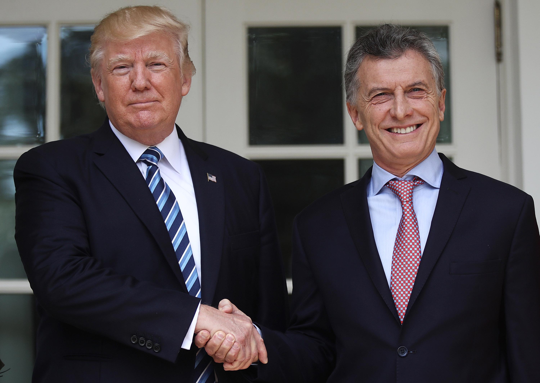 """""""Yo le voy a hablar de Corea del Norte, él me va a hablar de limones"""", le dijo Trump a la prensa al reunirse con Macri la semana pasada."""