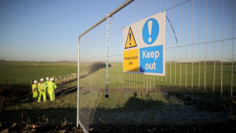 Fracking starts at landmark Lancashire site
