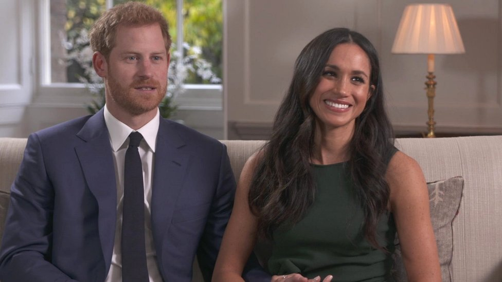Prince Harry y Meghan Markle