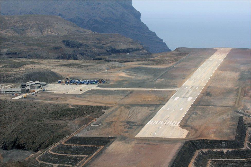 聖赫勒拿機場