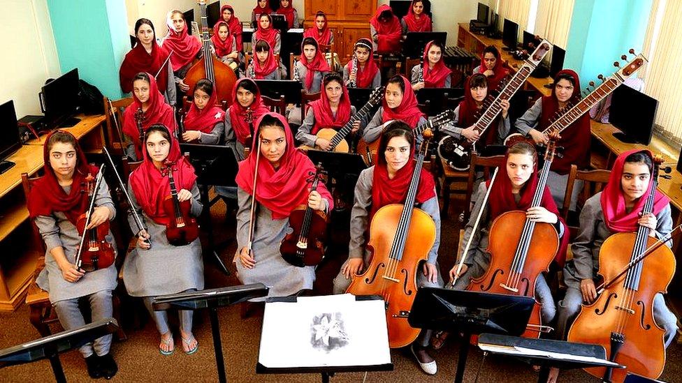 انستیتوی ملی موسیقی افغانستان برنده جایزه موسیقی پولار شد