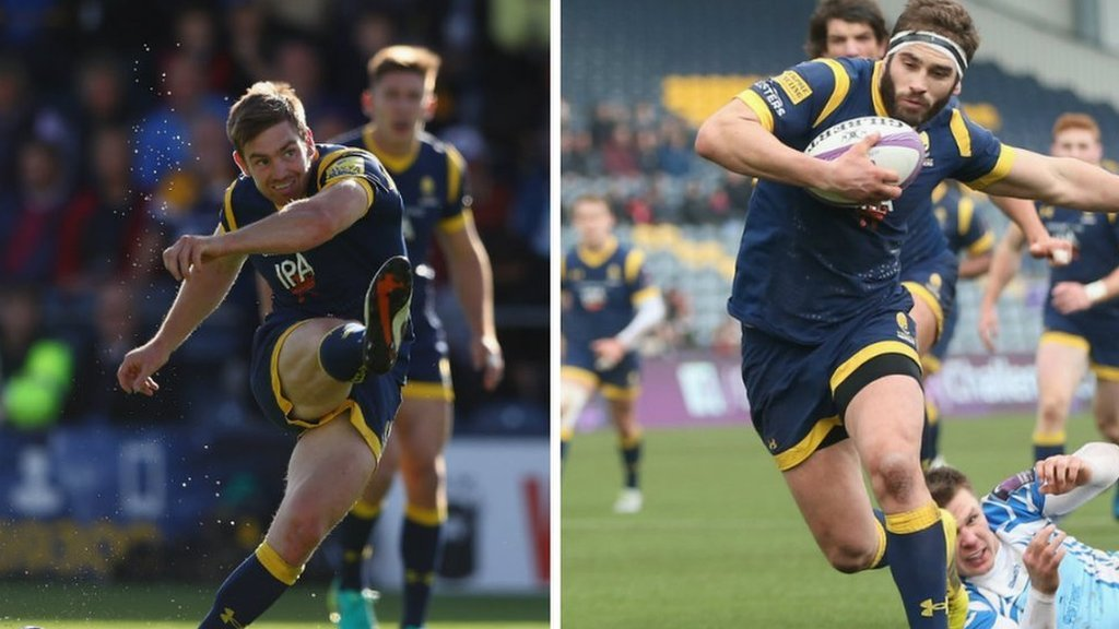 Worcester Warriors: Tom Heathcote signs new deal as Sam Betty prepares to bow out