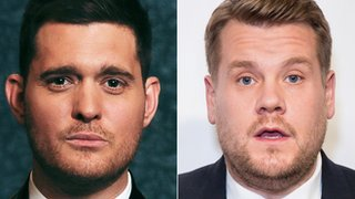 Who will replace Buble at the Brits?