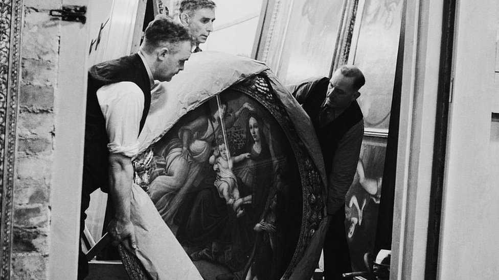 How National Gallery's art was hidden from Hitler in WW2