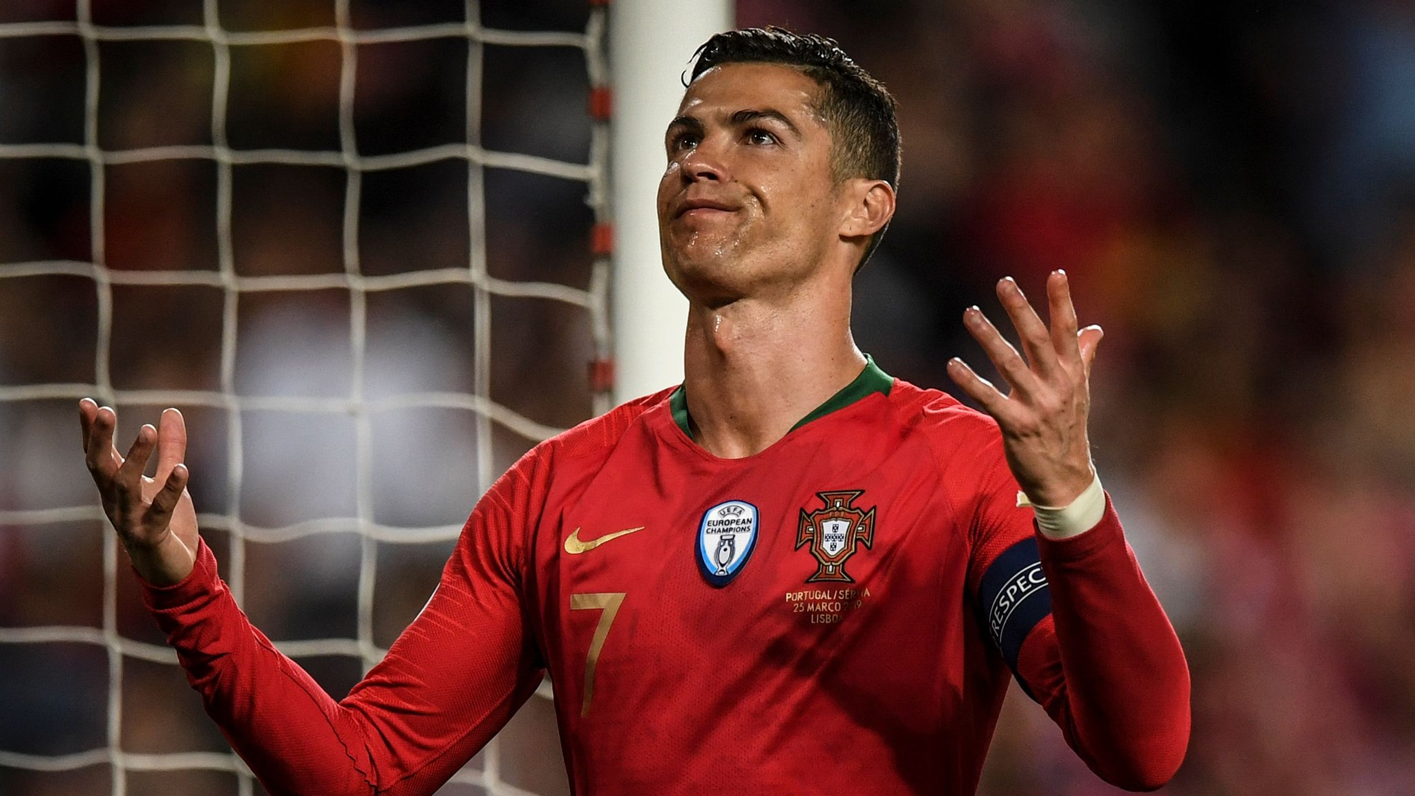 Portugal 1-1 Serbia: Cristiano Ronaldo suffers hamstring injury