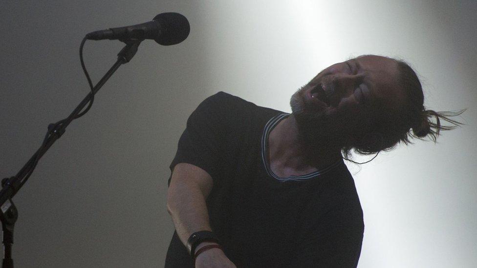 Radiohead on rare form at Glastonbury