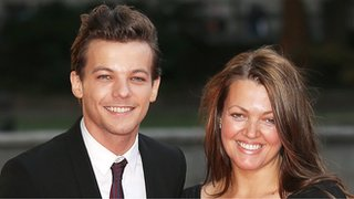 Louis talks about mum's death
