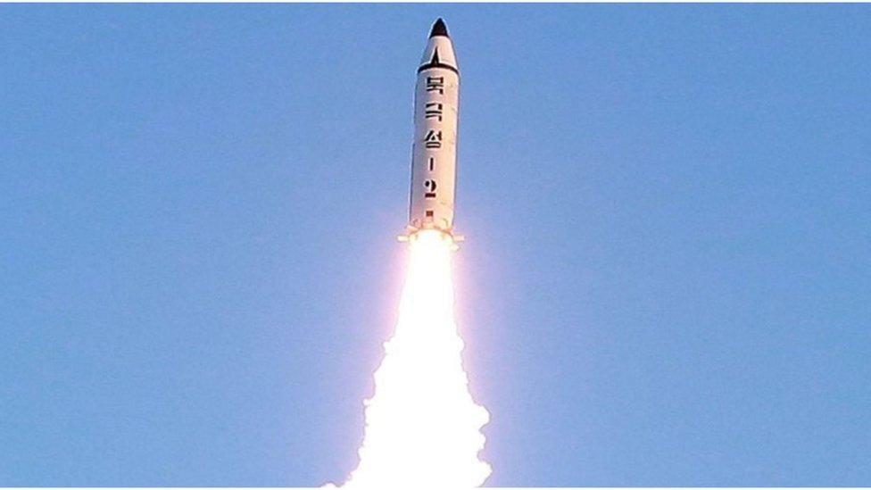 Bắc Hàn phóng thử hỏa tiễn ngoài biển Nhật Bản