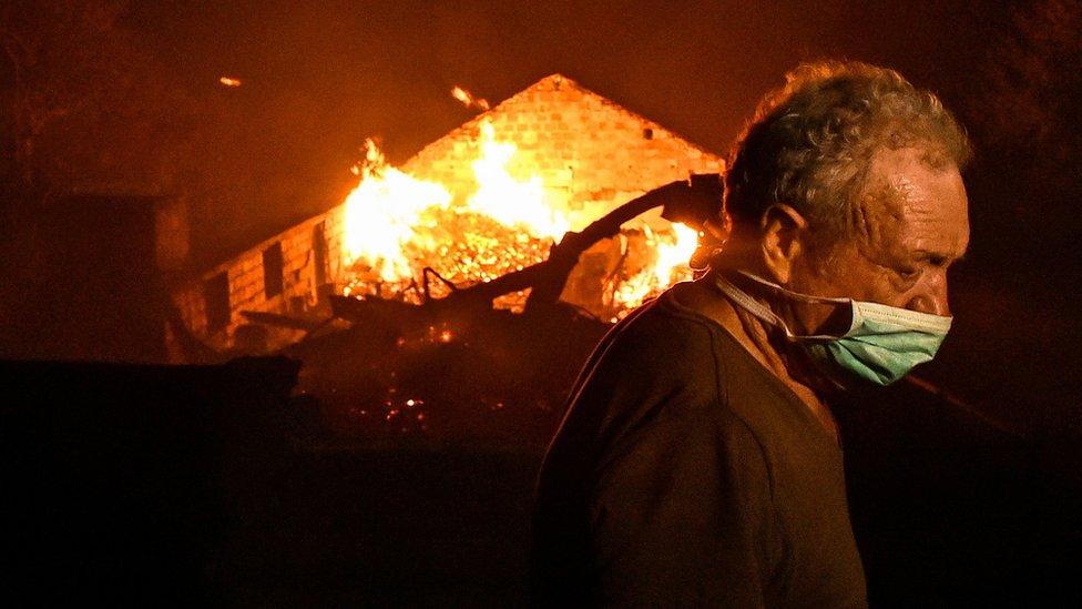 Пожежі в Португалії й Іспанії: десятки загиблих