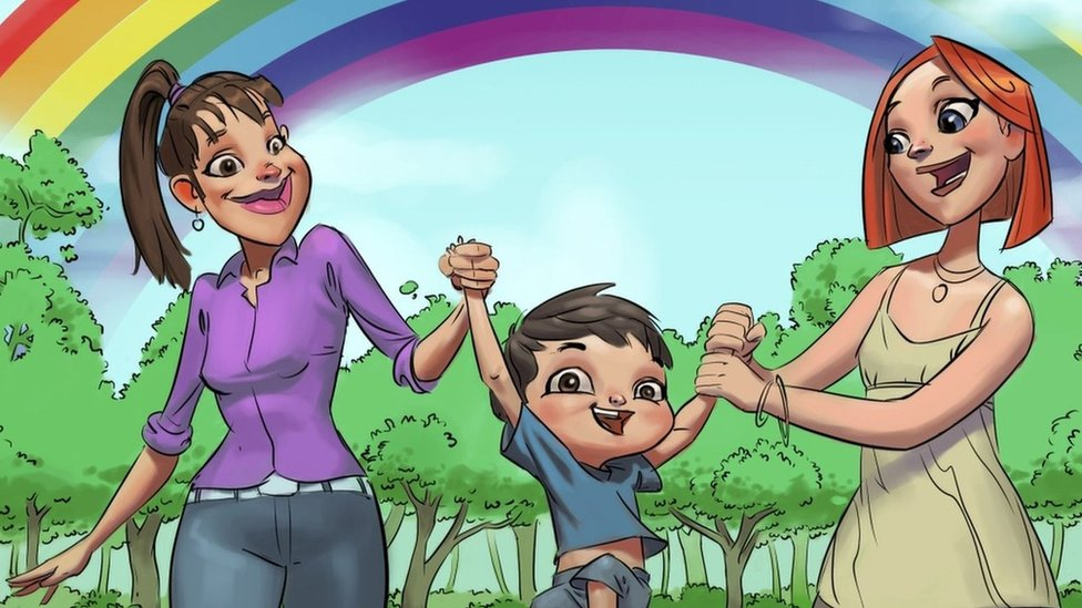 Croatia bedtime stories feature same-sex families for first time