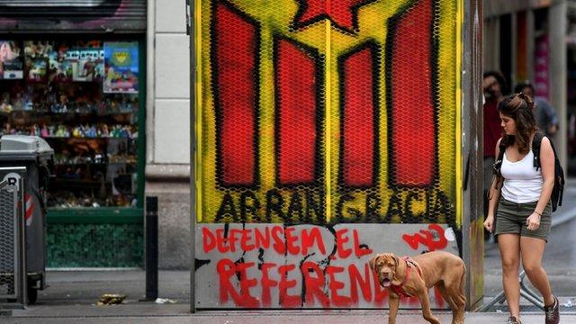 El movimiento independentista ha ganado fuerza en Cataluña en los últimos años.