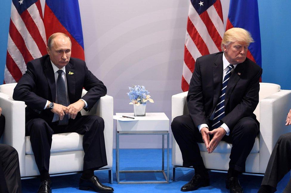 Alemania fue el escenario de los primeros encuentros entre Vladimir Putin y Donald Trump
