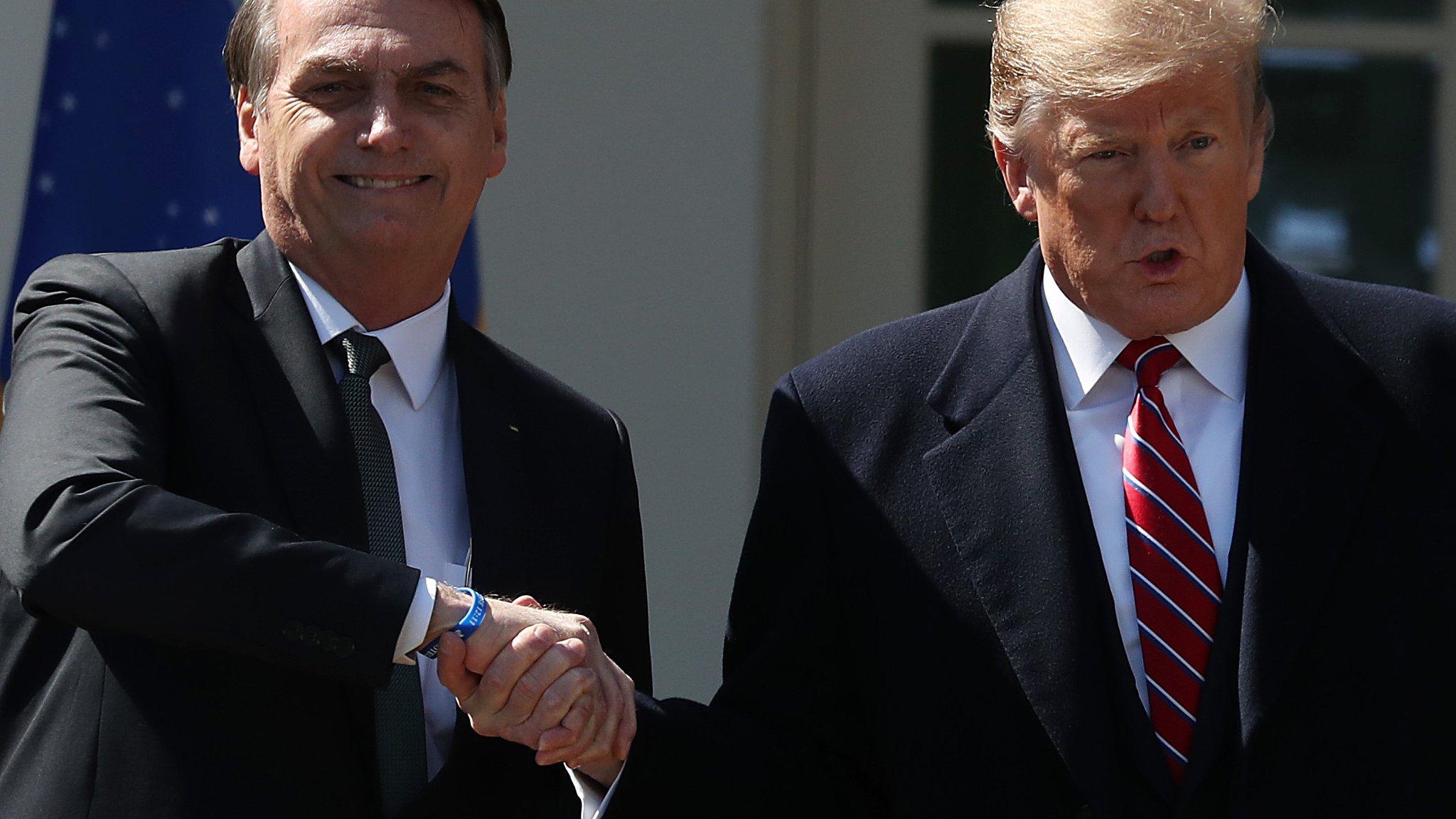 Bolsonaro visit: A tale of two Trumps