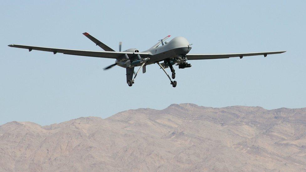 طائرة عسكرية موجهة
