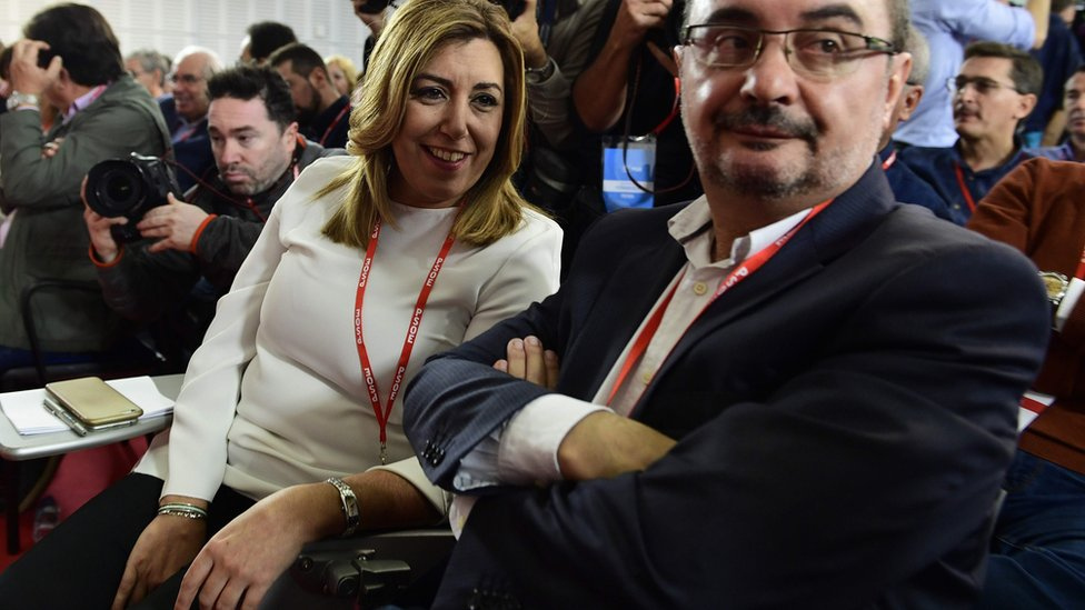 Spain's Socialists vote to allow Rajoy minority government
