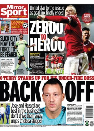 Mirror back page