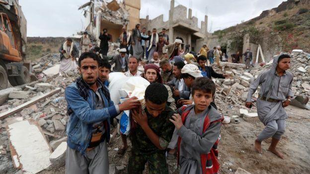 خلفت الحرب في اليمن 20 مليون شخص في حاجة إلى معونات إنسانية