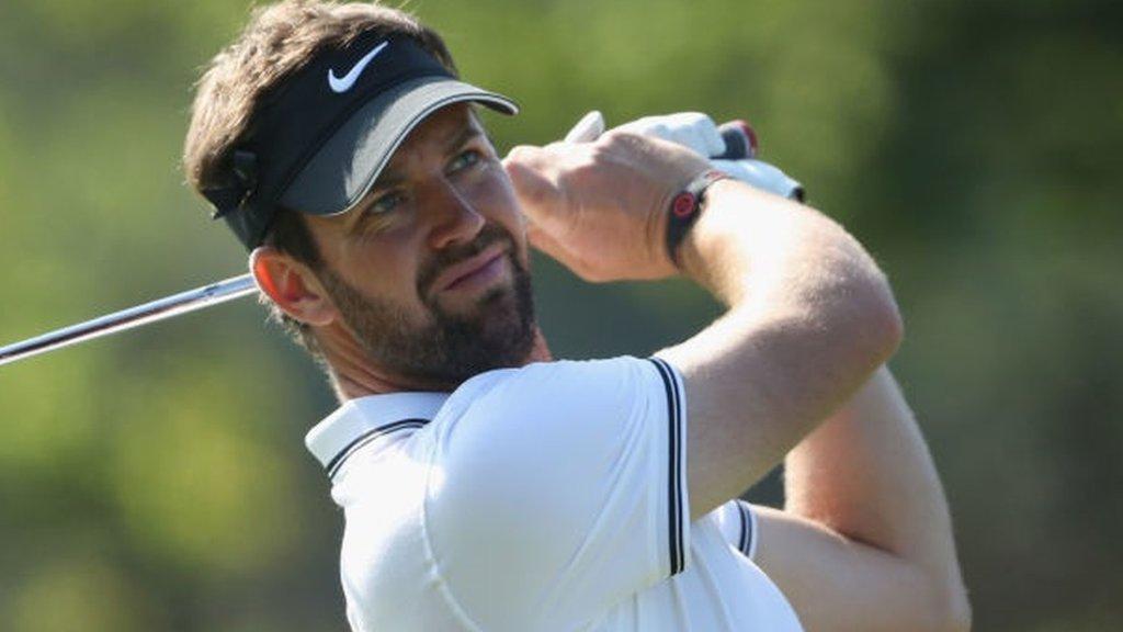 PGA Championship: Scotland's Scott Jamieson one off Wentworth lead